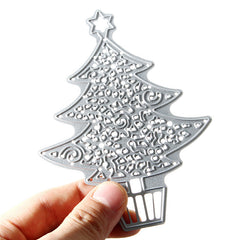 Christmas Tree Metal Die Cutting DIY Scrapbook Photo Paper Gift Party Decor