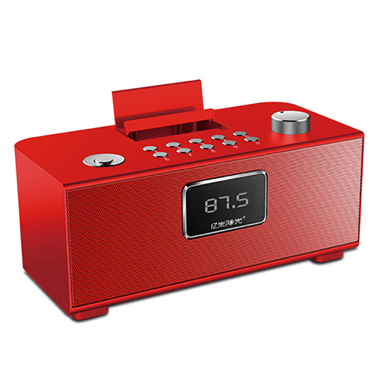 PN-06 Protable Bluetooth 4.1 EDR Alarm Clock DSP Speaker TF with Phone Stand