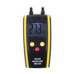 HT-610 Digital LCD Ambient Temperature Tester Wood Moisture Meter for Plants Hygrometer