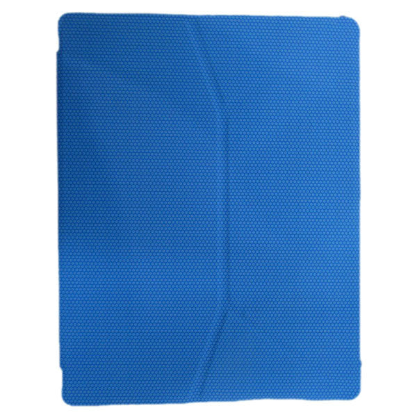 Basketball Grain Foldable Stand Lead Leather Case Pouch For iPad