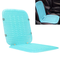 1Pcs 44x39cm PVC Blue Seat Cushion Ventilate Saddle Pad Universal for Car Home Office