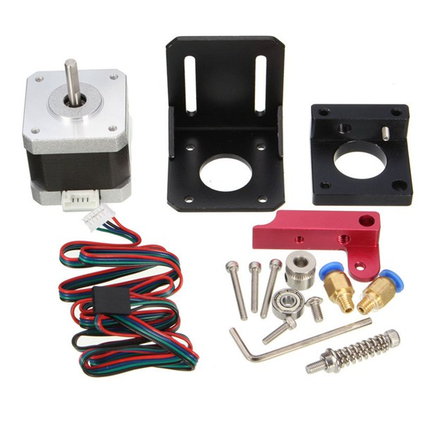 MK7 MK8 All Metal Remote Extruder Kit For 1.75mm Filament 3D Printer