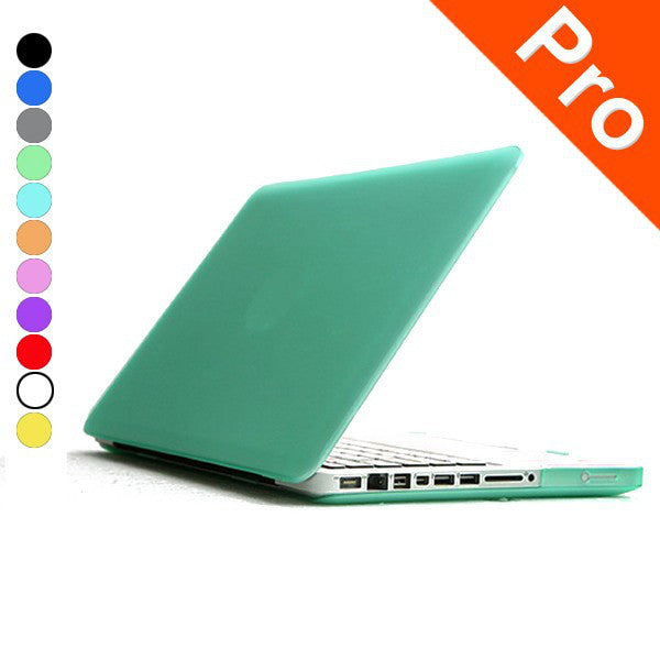 Cover Logo Frosted Surface Matte Hard Cover Laptop Protective Case For Apple Macbook Pro 13.3 Inch