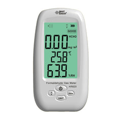 AR820 Formaldehyde Gas HCHO Detector Monitor 0~5.0PPM Temperature Humidity Moisture Tester