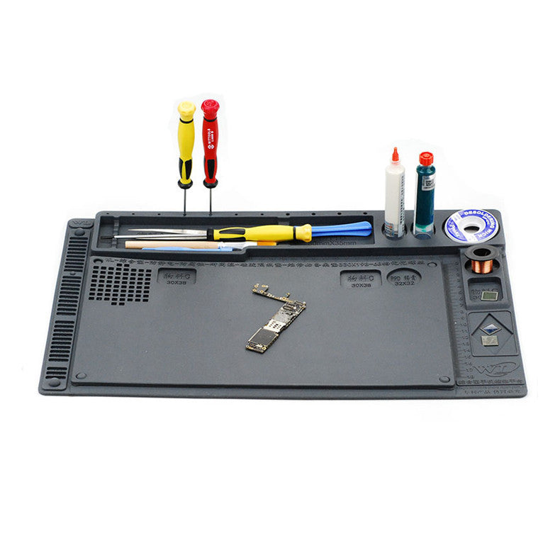 2 in 1 Multi-function Silicone Mat Table Pad Maintenance Platform BGA Soldering Repair Work Station