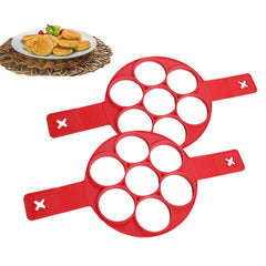 Honana CF-BW86 Silicone Perfect Pan Cake Mold Non-stick Pan Cake Cake Omelette Mold Maker Egg Ring