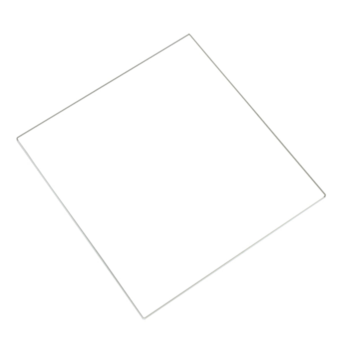 3D Printer Borosilicate Glass Build Plate For Heated Bed RepRap-Prusa-Mendel