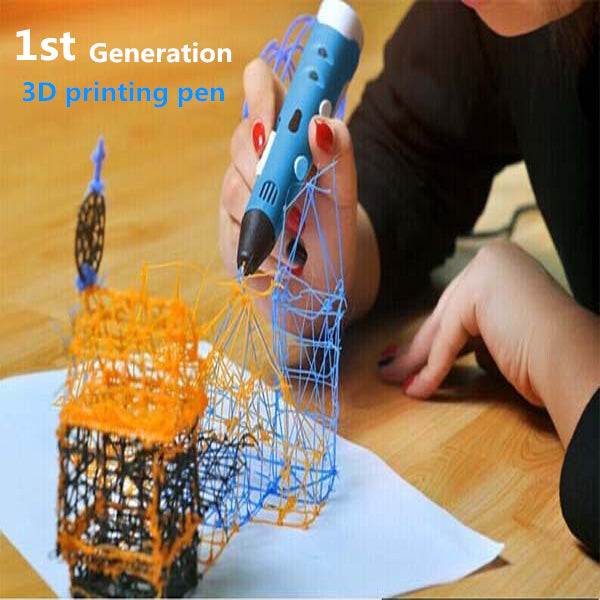1st Generation 3D Printing Pen Drawing Art Crafting Tool Stereoscopic Printer