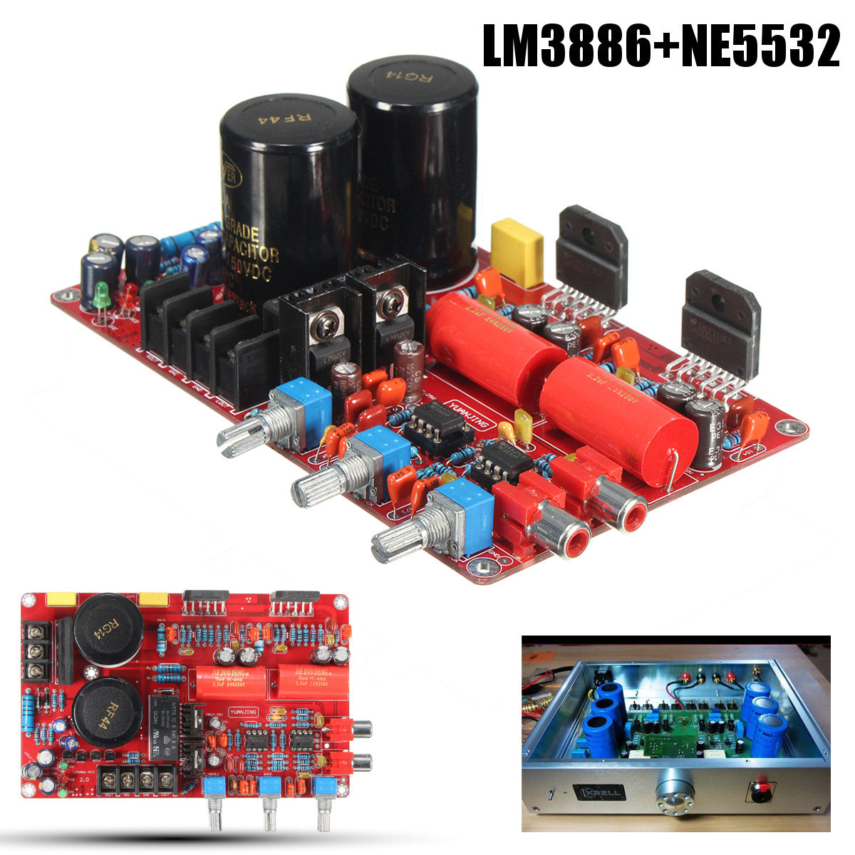 12v Boost To 32vdc 180w Power Supply Inverter Tl494 Irfz44n For 8 Ohm Amplifier With 60w Output Ac20v 28v Lm3886 Ne5532 68w 4 Amp