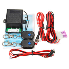 Universal Car Remote Auto Protection Vehicle Entry Security Burglar System Alarm