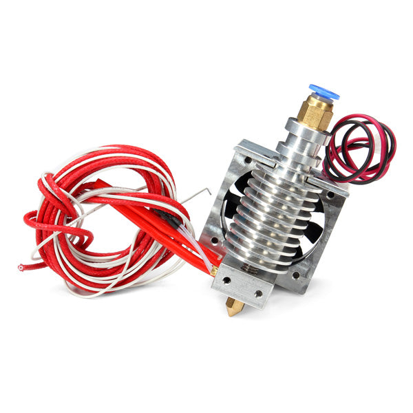 All Metal J-Head Long-Distance Nozzle With Holder Cooling Fan For 3D Printer