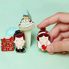 Creative Household Wedding Gifts Boys And Girls Series Fridge Magnets