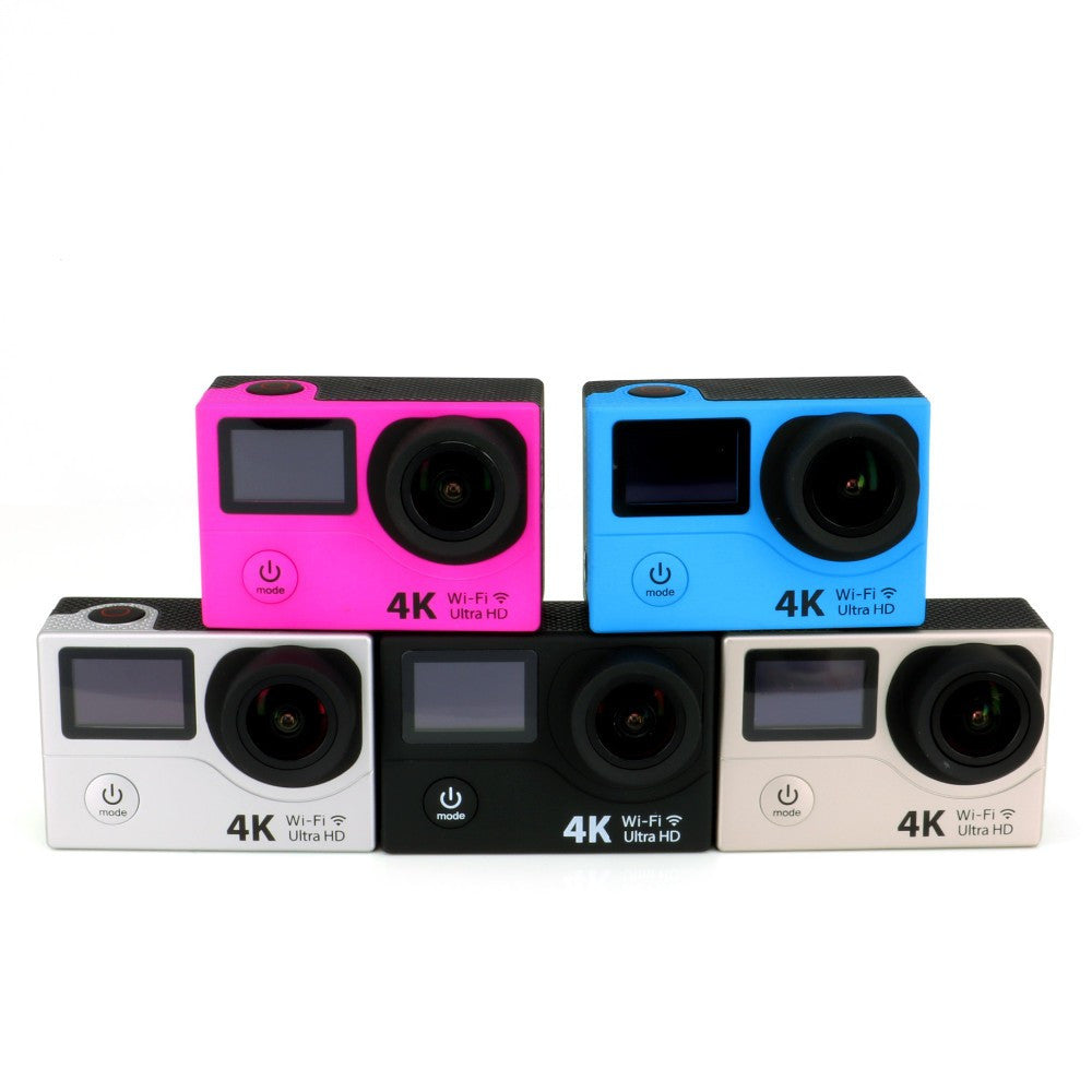 Action Camera Ultra HD 4K Video Sports Camera 170D Wide Angle 2 Dual Screen en WIFI