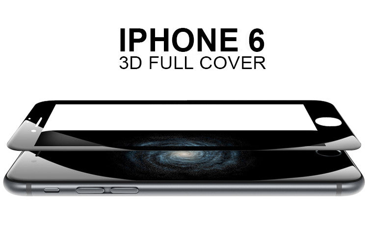 Full Cover 3D Tempered Glass-Screen protector voor iPhone (Alle modellen)