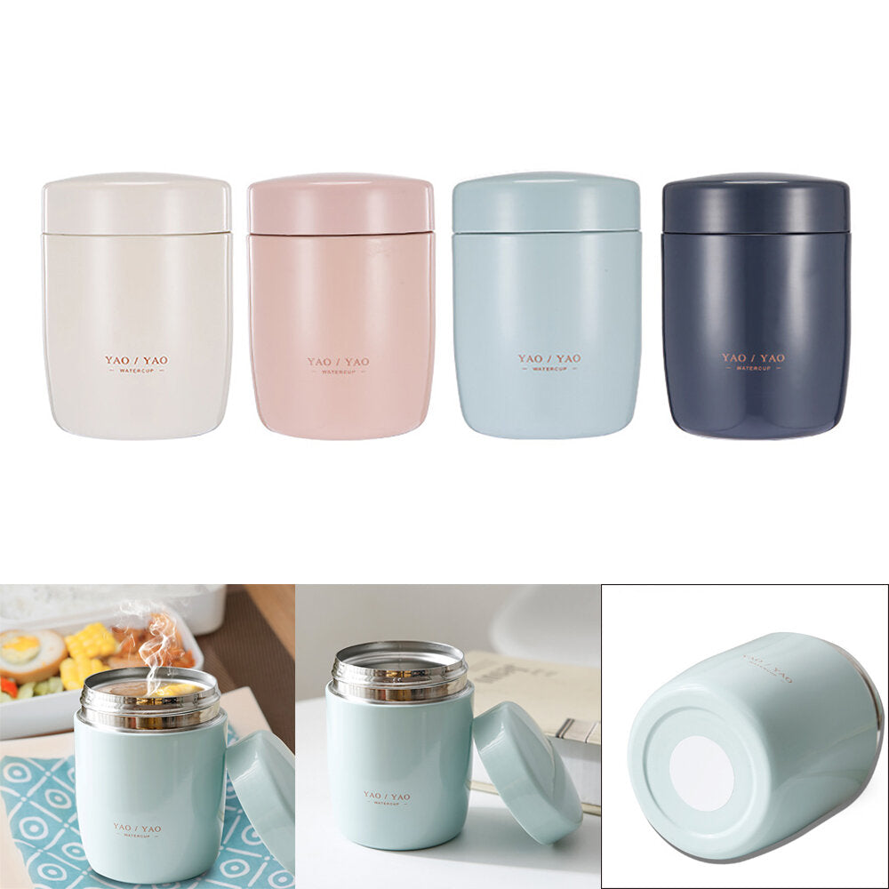 260 ml mini voedsel thermos lunchbox roestvrijstalen voedsel soep containers thermosflessen thermos