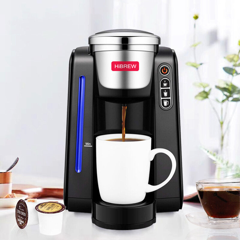 hibrew ac505k automatische capsule koffiezetapparaat 220v 1420w 1.4l one touch control panel met ver