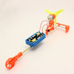 Wind Powered Car DIY Creative Small Toys Technology Production