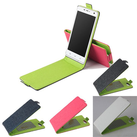 PU Leather Flip Magnetic Protective Case For ThL 5000 4400