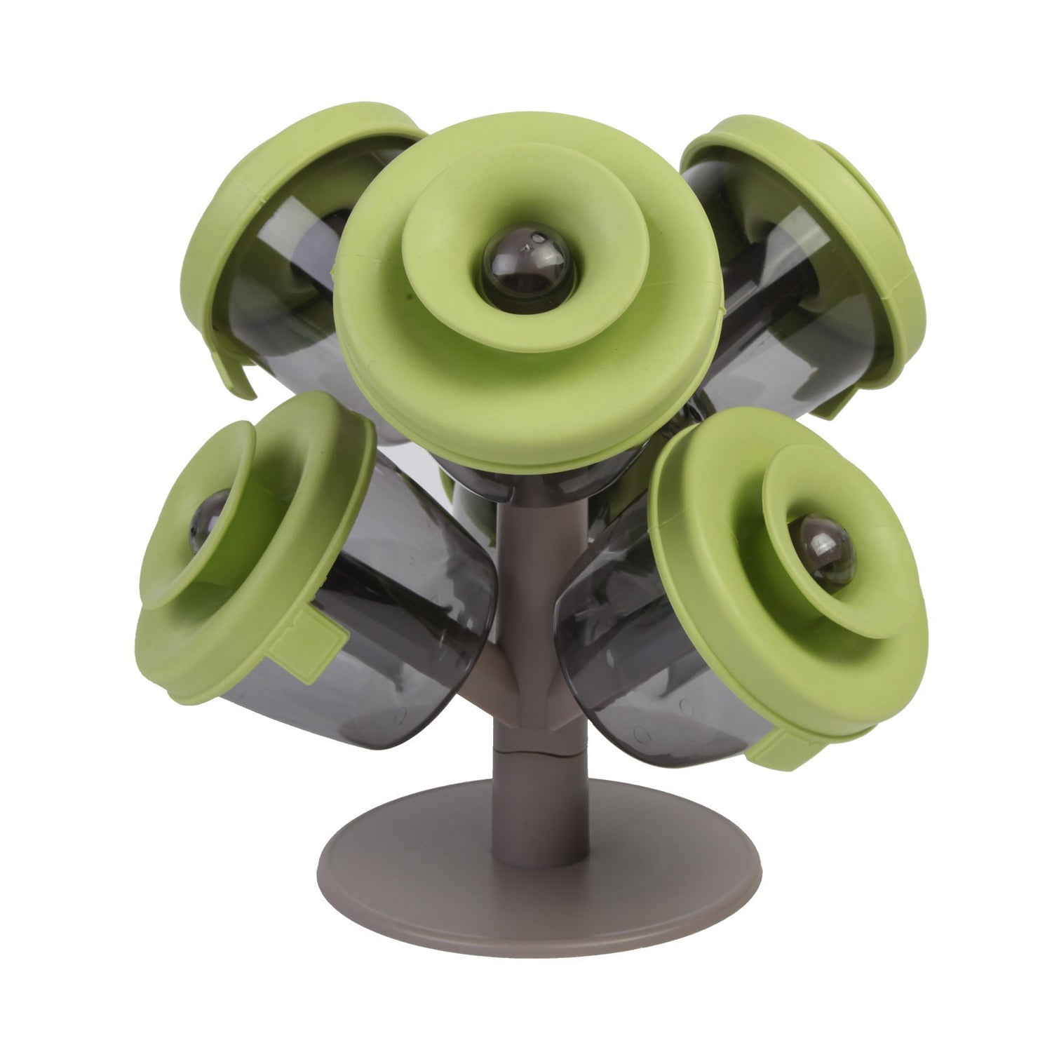 Wil je alles weten over KCASA KC-SR055 Tree Shape Spice Rack With 6 Seasoning Jars Container Dispenser Kitchen Cooking Tools? Hier lees je alles over Kitchen Flavouring Tool Kitchen,Dining & Bar