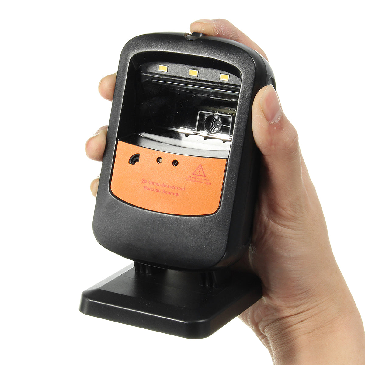 Rotatable M8106 Hands-free Handheld 1D 2D Barcode Scanner with USB Cable UPC EAN