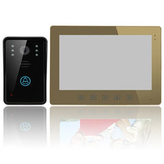 ENNIO SY1001A-MJ11 10inch Video Door Phone Intercom Doorbell Touch Button Remote Unlock Night Vision