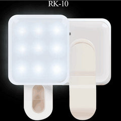 RK-10 Nights Selfie Camera Flash Light Universal Mini External Synchronous Flash Lamp For Phone