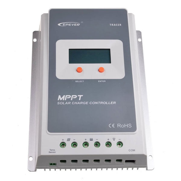 Epever Tracer LCD Diaplay 10A-20A-30A-40A 12V-24V Auto MPPT Solar Charge Controller Connect Solar Pa