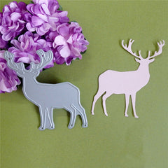 Christmas Elk Cutting Dies DIY Hand Craft Scrapbook Album Paper Card Decor Tool