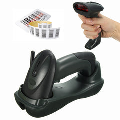 Cradle Wireless Bluetooth Barcode Scanner CCD Laser Reader with USB Cable