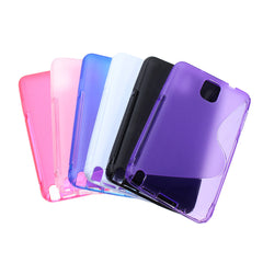 S Line TPU Gel Silicone Soft Case For Samsung Galaxy Note 3 N9000