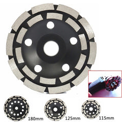 115/125/180mm Diamond Grinding Disc Brick Concrete Cut for Angle Grinder