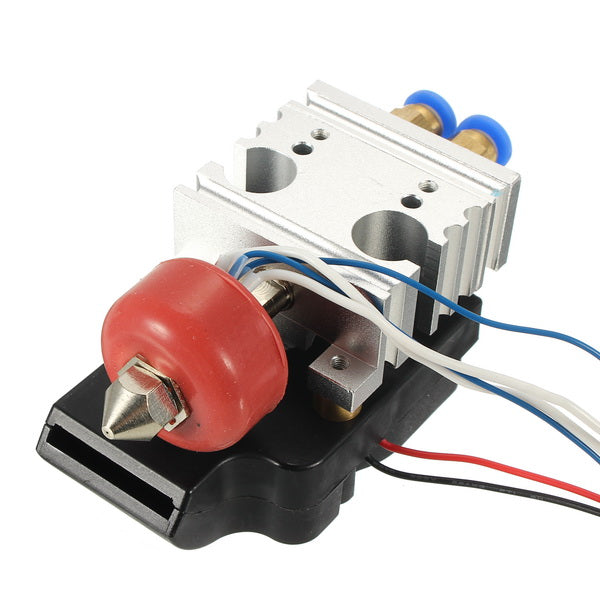 Dual Head Extruder 2-in-1 Mixed Heating Head 3D Printer Accessories