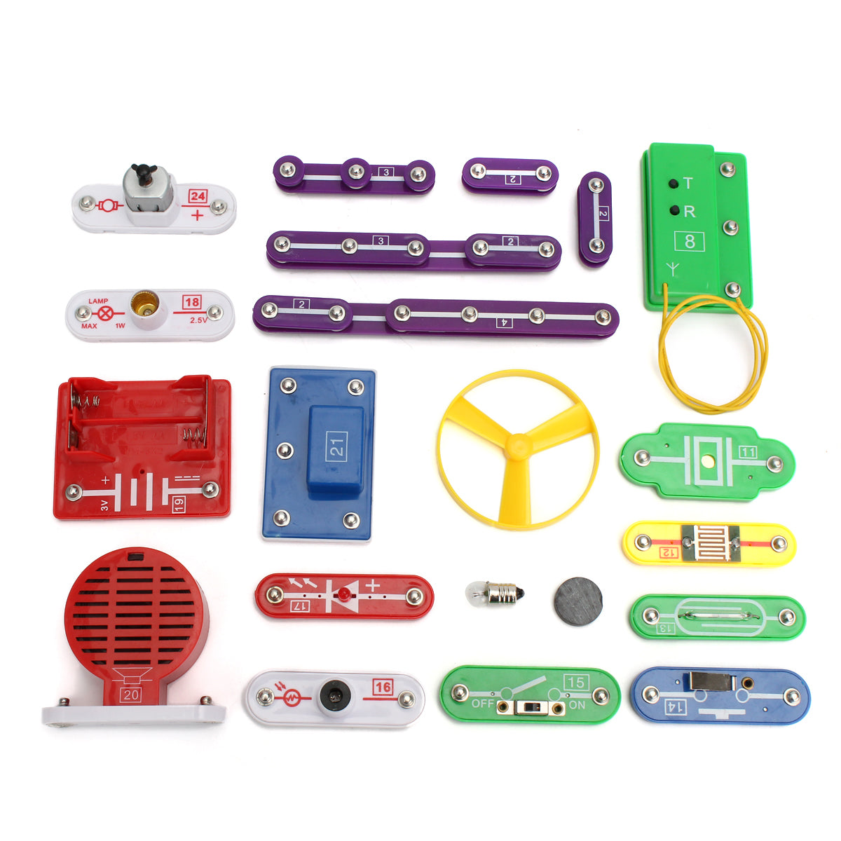 W-335 Snap Circuit Electronics Discovery Kit Science Educational Toy