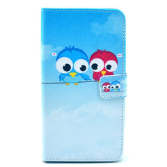 Owl Couples TPU Leather Protective Case For Samsung NOTE 3 N9000