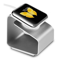 Metal Aluminum Charger Stand Holder Charging Cradle Base For Apple Watch