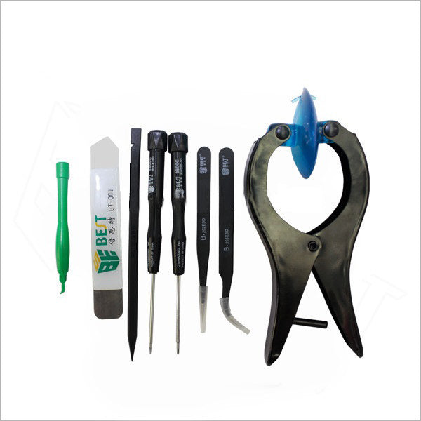 BST-609 8-in-1 Professional Disassemble Tool Kit Opening Pry Tools Screwdriver Set for iPhone iPad