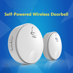 Linbell G2 Waterproof IPX7 Self-powered No Battery Wireless Door Bell