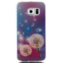 Blu Ray TPU Paintting Cellphone Case Cover For Samsung Galaxy S6 Edge