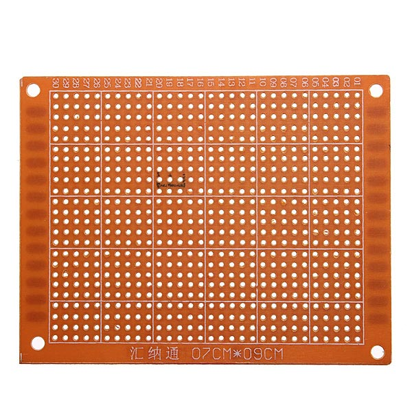 10Pcs 7x9cm PCB Prototyping Printed Circuit Board Prototype Breadboard