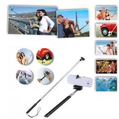 Retractable Bluetooth Selfie Monopod Rod For iPhone 6 6+ Cellphones