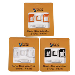 NINE 4 in 1 SIM Card Adapters For iPhone 4s/6s Micro Standard Nano SIM Card Adapters And Pin Key