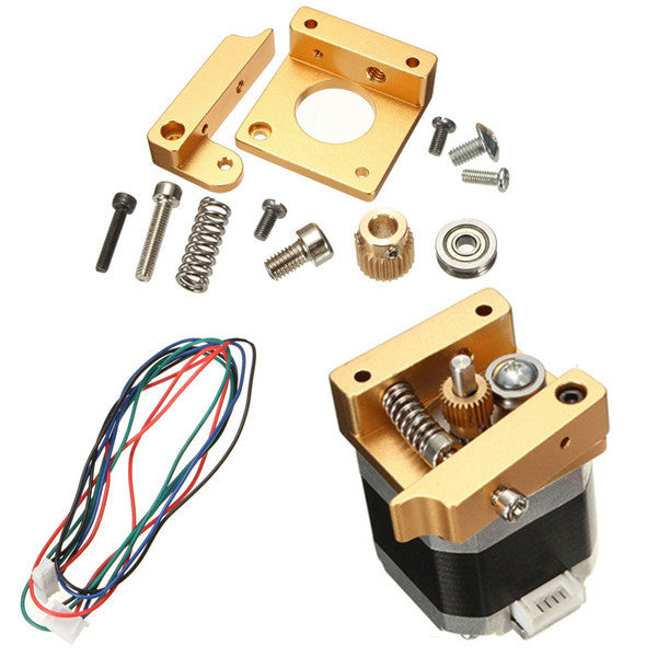 MK8 Aluminum Extruder Kit With NEMA 17 Stepper Motor 1.75MM For 3D Printer RepRap Prusa i3