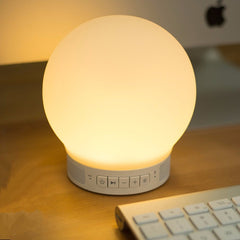 Multi-function Bluetooth 4.0 Stereo Light App Controlled Mini Night Light Creative Alarm Lamp
