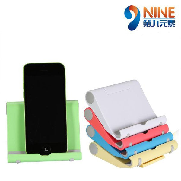 NINE 270 Degree Rotation 6 Fashion Candy Color Universal Bracket For iPhone iPad Tablet PC All Phone