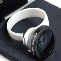 180 Degree Angle Fisheye Lens For iPad iPhone 5 4 4S Mobile Phones