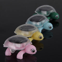 Mini Sunlight Solar Educational Toy Little Tortoise Turtle Gift