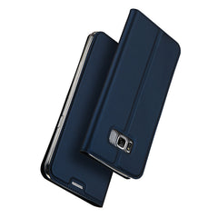 DUX DUCIS PU+TPC Magnetic Flip Kickstand Case With Card Slot For Samsung Galaxy S8 Plus