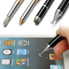 4 in 1 Precision Disc Capacitive Stylus Touch Ball Pen For iPhone 6S/6 Plus SmartPhones Tablets