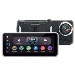 Junsun H99 6.5 Inch Car DVR Rear View GPS Navigation Android 4.4 with DVR Camera Recorder