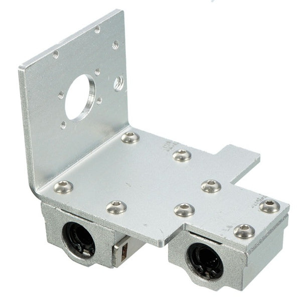 X-Axis Long-Short Distance Printhead Aluminum Mounting Base For 3D Printer